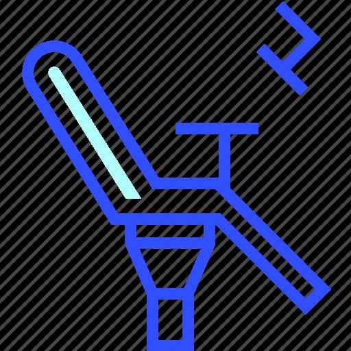 chair, dentist, health, hospital, medic, medical, teeth icon