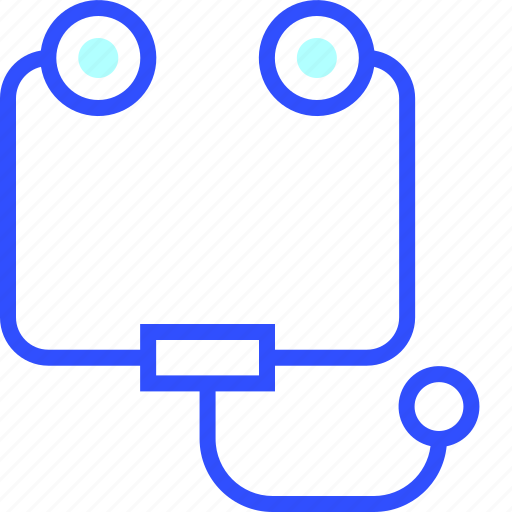 doctor, health, hospital, medic, medical, phonendoscope icon