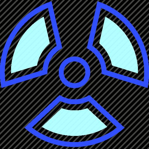 health, medic, medical, nuclear, radiation icon
