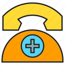 call, care, emergency, medical, phone, telephone, urgency icon