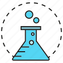 chemistry, drug, flask, lab, pharmacy, science, tube icon