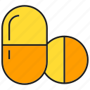 capsule, drug, medicine, pharmacy, pill, remedy icon