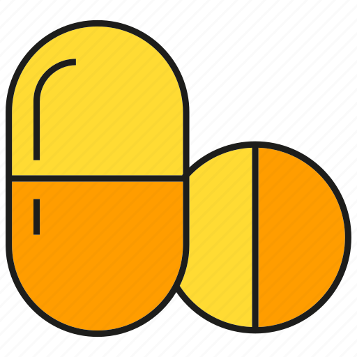 capsule, drug, medicine, pharmacy, pill, remedy icon