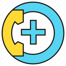 contact, crisis, emergency call, health care, medical, phone, urgency icon