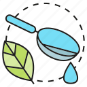 drug, herb, leaf, medicine, pharmacy, remedy, spoon icon