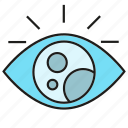 eye, iris, scan icon