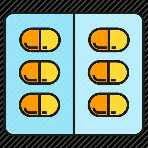 capsule, dispensary, drug, drugstore, medical, medicine, pharmacy icon