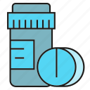 bottle, medical, medicine, pharmacy, pill, remedy icon