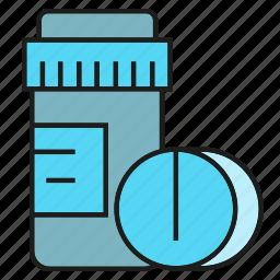 bottle, medical, medicine, pharmacy, pill, remedy icon