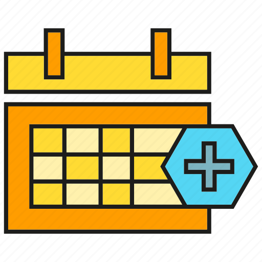 appointment, calendar, medical, schedule icon
