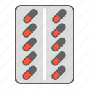 antibiotic, capsule, chemistry, drug, health, medical, medicine, pharmacy icon
