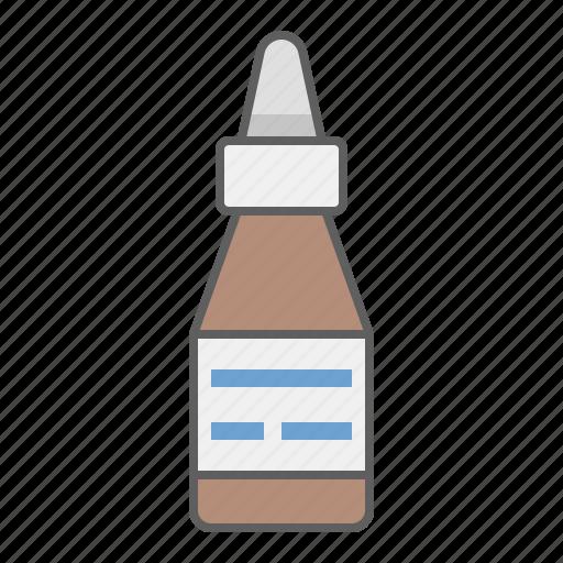 chemistry, drug, ear drop, eye drop, health, medical, medicine, pharmacy icon