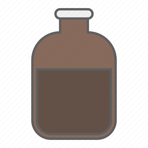 bottle, chemistry, drug, health, medical, medicine, medicine bottle, pharmacy, reagent bottle icon