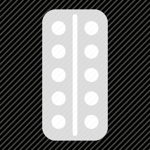 chemistry, drug, foil, health, medical, medicine, pain killer, pharmacy, pill icon