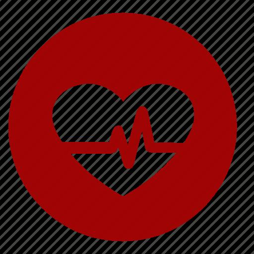 diagnosis, heart, hospital, patient, symptoms icon