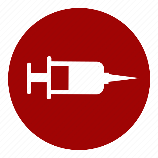 diagnosis, hospital, medicine, needle, patient, symptoms, syringe icon