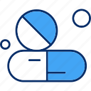 capsule, medical, medicine icon