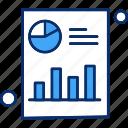 bar, chart, graph, pie