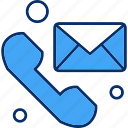 email, message, telephone