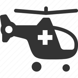 air ambulance, emergency, first aid, helicopter icon