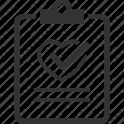diagnosis, health test, healthcare, medical file icon