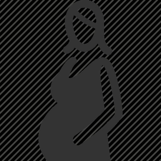maternity, pregnancy, prenatal care icon