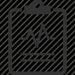 cardiogram, healthcare, medical, medical diagnosis icon