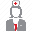 care, health, nurse, staff icon