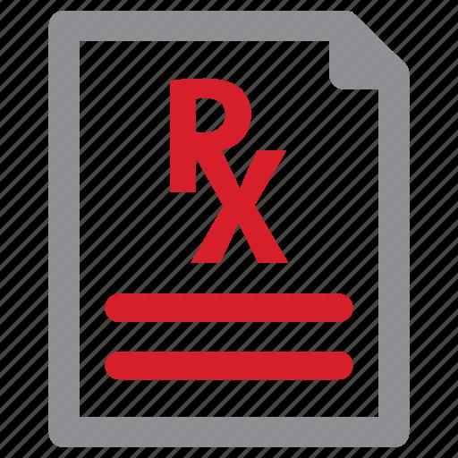 medicine, pad, pharmacy, prescription icon