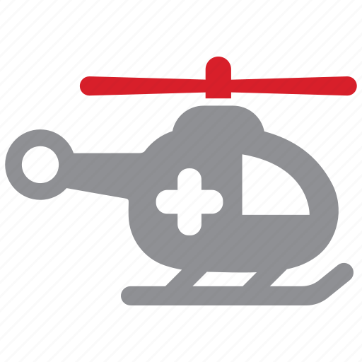 emergency, helicopter, rescue icon