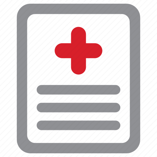 medical, record, result, test icon