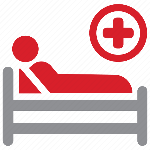 bed, care, hospital, patient icon