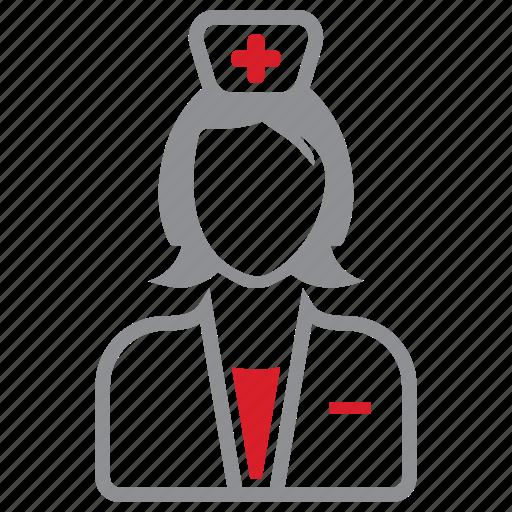 care, medical, nurse icon