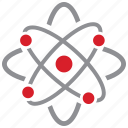 atom, molecular, molecule, science icon