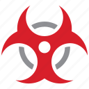 biological, danger, hazard, risk icon