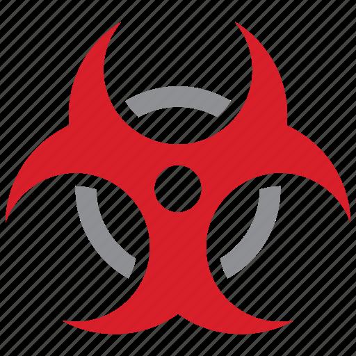 biological, danger, hazard, risk icon