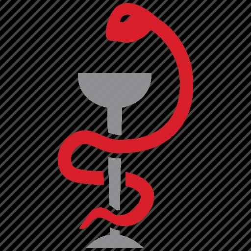 medical, medicine, snake icon