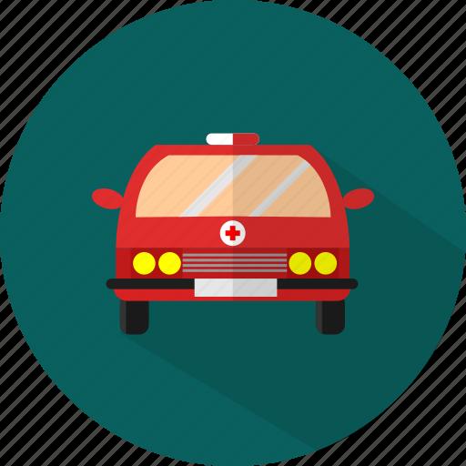 ambulance, car, emergency, medical icon