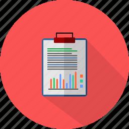 board, graph, medical, report icon