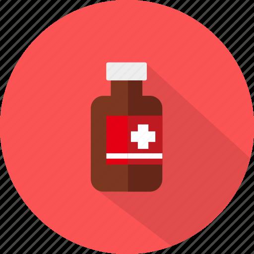 bottle, medical, medicine icon