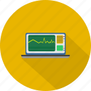 cardiology, medical, monitoring icon