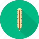 fever, high, medical, termometer icon