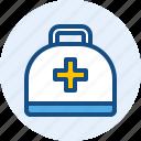 bag, health, kit, medical, medicine
