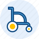 doctor, health, medical, wheelchair icon
