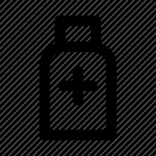 bottle, drug, healthcare, medical, pharmacy icon