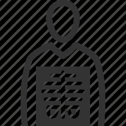 diagnosis, human body, radiology, xray icon