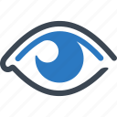 eyesight, ophthalmology, vision, eye care icon