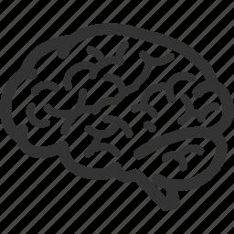 brain, brainstorming, mind, neuroscience icon