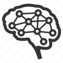 brain, brainstorming, neurology icon