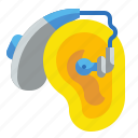 aid, ears, healthcare, hearing, medical, technology icon